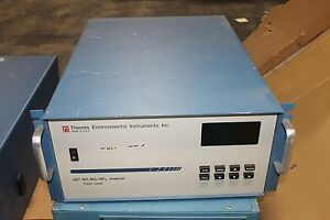 Thermo Environmental 42c No no2 nox Gas Emission Analyzer