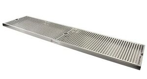 Kegco Sesm 369d 36 X 9 Surface Mount Drip Tray With Drain