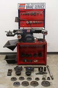 Ammco 4100b Heavy Duty Disc Drum Brake Lathe Loaded W Tooling Bench