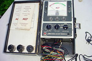 B k Model 445 Crt Tester Rejuvenator Works