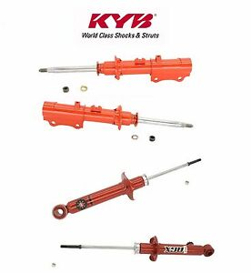 For Mazda Rx 7 Front Rear Shock Absorber Kit Kyb Agx 733012 733013 741025