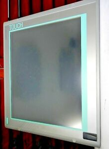 Siemens Simatic Hmi Ipc 477c 4gb Touch Screen Panel Pc 19 Inches s 2591 10