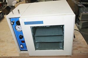 Vwr Sheldon Shel lab Vacuum Oven Model 1410 Working
