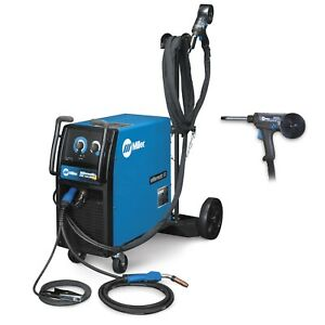 Millermatic 212 W autoset And Spoolmate 200 Mig Welder Pkg 951177