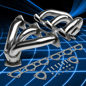 Stainless Steel Header Exhaust Manifold For 2001 2008 Porsche 911 996 997 Turbo