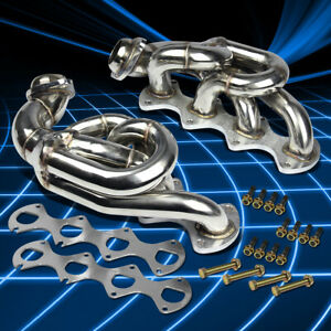 For 05 10 Ford Mustang Gt 4 6 V8 Stainless Steel Shorty Header Manifold Exhaust