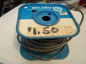 Belden 8484 Electrical Wire Cable Almost 100 Roll 20 Awg Bare Copper Conductor