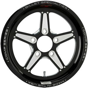 15x3 5 Billet Specialties Comp 5 Black Star Pro Wheel 5x4 5 2 25 Bs Csfb35356522