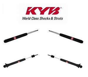 For Audi 80 90 Kit Of 2 Front 2 Rear Left Right Struts Kyb Excel g