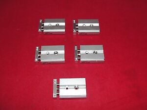 Smc Cxsjm6 10 Pneumatic Cylinder Slide Lot Of 5