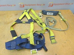 Sala Isafe Intelligent Safety System Harness W 6ft Retracting Lifeline 1103270