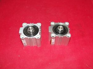 Smc Ecq2b 40 150 Pneumatic Compact Cylinder Lot Of 2