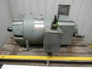 Ge Cd368at 60 Hp 240vdc 850 2500 Rpm Blower Ventilated Electric Motor