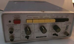 Leader Lcg 395a Universal Video Color Signal Generator