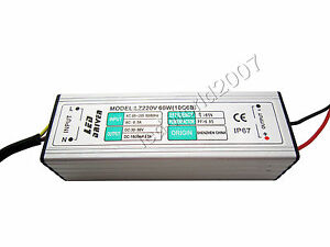 60w High Power Led Driver Constant Current Power Supply Dc 30v 36v 1800ma