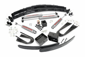 Rough Country 6 Lift Kit 77 91 Chevy 1 ton Pickup 4wd