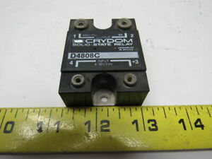 Crydom D4808c 8a 480v Panel Mount Relay