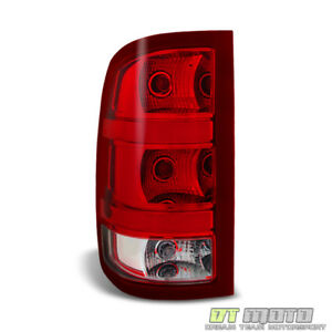 2007 2013 Gmc Sierra 1500 2500hd 3500hd Tail Light Brake Lamp Left Driver Side