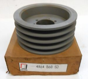 Electron Bushing Bore V belt Pulley 4b68sd 4b 68 Sd 4a64 B68 Sd 7 15 Od
