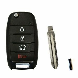 Keyless Entry Folding Key Remote Control For 2014 Forte K3 Koup Oem Parts