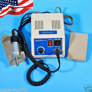 Dental Electric Marathon Micro Motor Polishing Machine W Micromotor Handpiece