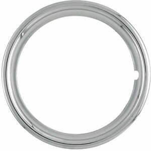 17 New Plastic Chrome Beauty Rings Standard 2 Inch Trim Ring Measures 1 3 4