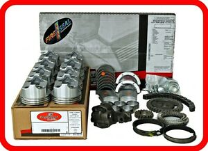 96 02 Chevrolet Gm 350 5 7l Ohv V8 Vortec Engine Rebuild Kit