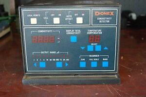 Dionex Conductivity Detector Model Cdm 1a Used