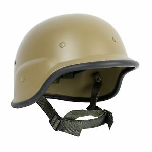 US SWAT M88 PASGT AIRSOFT MILITARY ARMY TACTICAL HELMET TAN (H-159)