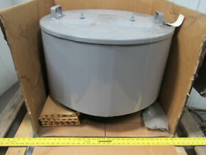 Solberg F 385p 1000f Inlet Filter 10 Flange Out 3300 Max Cfm Dia 28 1 2