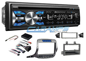 New Soundstream Stereo Radio W Bluetooth Aux usb Input W Install Kit Camaro