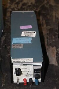 Fluke 731b Laboratory Reference Dc Voltage Standard Model 731b