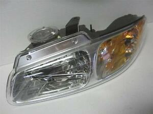 Oem Chrysler Town Country Voyager Dodge Caravan Driver S Lh Headlight W O Quad