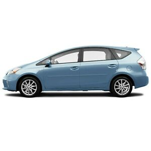 Body Side Moldings Painted Trim Mouldings For Toyota Prius V 2012 2018