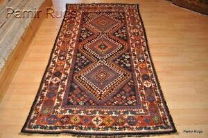 Nomad 4 X8 Antique Caucasian Lori Design Rug Circa 1890 S Tribal Kurd Pm75