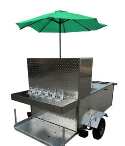 Hot Dog Concession Trailers Carts Mobile Vending Concessions Stand