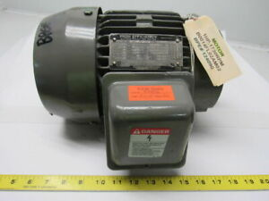 Toshiba B0014flc2am02 1 Hp 1730 Rpm 3 Ph 230 460v Electric Motor