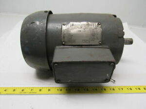 Allis chalmers Rgz 1 1 2hp 3ph 230 460v 1740rpm Electric Motor