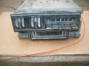 Mopar 1970 70 Dodge Challenger Plymouth Barracuda Am Radio With 8 Track 2884852