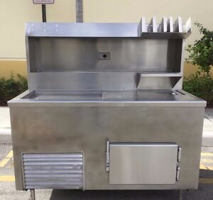 Carvel Gelato Dipping Cabinet Commercial Freezer