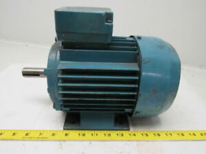 Elektrim 1hp Electric Motor 3ph 230 460v 1725 Rpm E143t Frame