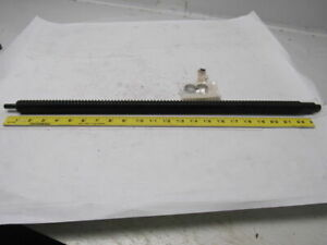 Lead Screw 21 1 2 Thread Length 25mm Dia 24 1 2 Oal No Bearing