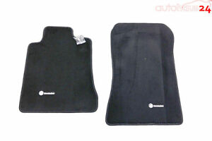 Mercedes Benz Sl Class R129 Black Carpeted Floor Mats 1990 2002 Genuine Oem