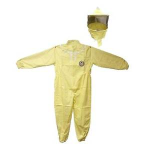 Professional Beekeeping Protective Full Body Suit With Hat Veil Extra Large