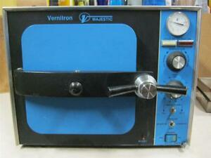 Vernitron 8080 Product Sterilizer Tabletop Autoclave needs A New Thermometer