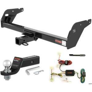 Curt Class 3 Trailer Hitch Tow Package With 2 Ball For 1995 2004 Toyota Tacoma