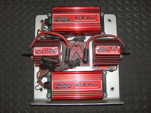 Mallory Ct Pro Dual Ignition Control Box Panel Tray 6864 W Coils Racing Nascar