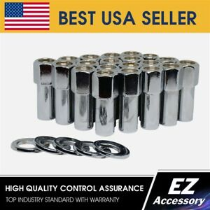 24 Pc Cragar Sst Weld Open End Mag 7 16 With Offset Washer