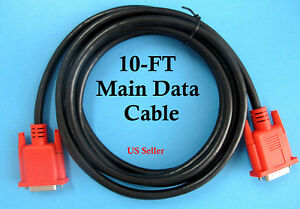 10ft Replacement Scan Tool Data Cable For Snap On Solus Pro Modis Mt2500 Mtg2500