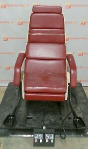Midmark 413 Medical Examination Chair Foot Control Gyn Stirrups Free Shipping